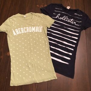 Abercrombie and Fitch / Hollister T-shirt Lot